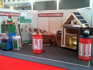 GEPLA Isolierung Messestand 2013