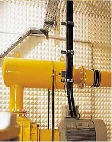 Schallisolierung eines kompletten Maschinenraums